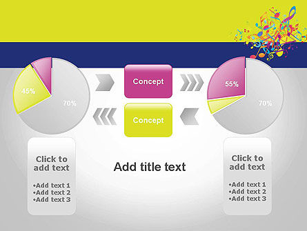 Colorful Tunes PowerPoint Template Slide 16