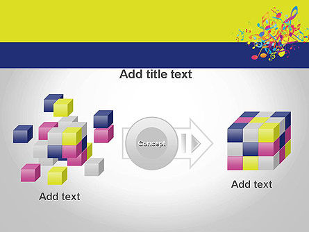 Colorful Tunes PowerPoint Template Slide 17
