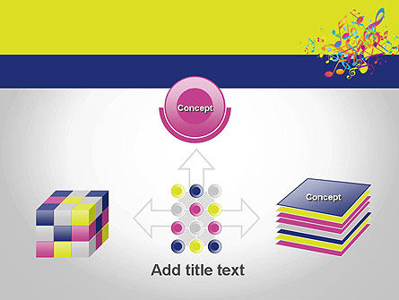 Colorful Tunes PowerPoint Template Slide 19