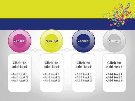 Colorful Tunes PowerPoint Template Slide 5