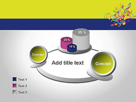 Colorful Tunes PowerPoint Template Slide 6