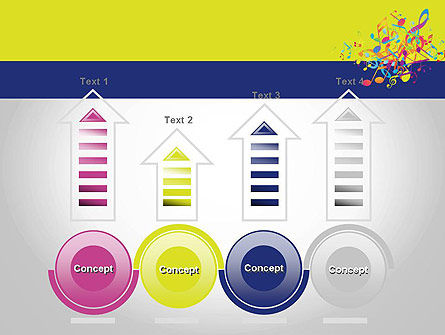 Colorful Tunes PowerPoint Template Slide 7