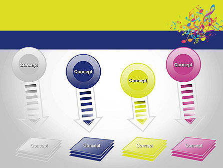 Colorful Tunes PowerPoint Template Slide 8
