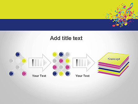 Colorful Tunes PowerPoint Template Slide 9
