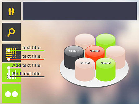 Flat Icons Design PowerPoint Template Slide 12