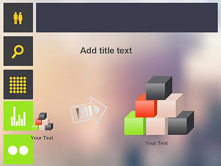 Flat Icons Design PowerPoint Template Slide 13