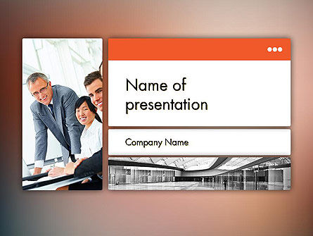 Business: Enterprise Presentation PowerPoint Template #11855
