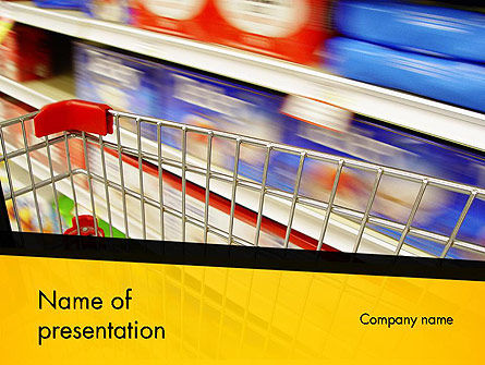 Food Supermarket PowerPoint Template