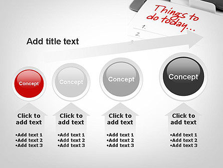 Things To Do List PowerPoint Template Slide 13