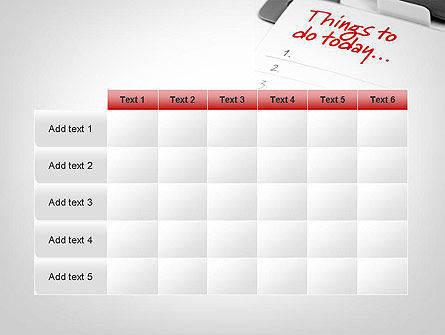 Things To Do List PowerPoint Template Slide 15