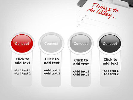 Things To Do List PowerPoint Template Slide 5