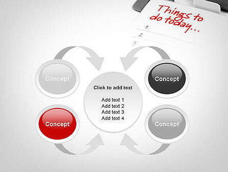 Things To Do List PowerPoint Template Slide 6