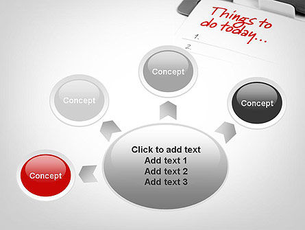 Things To Do List PowerPoint Template Slide 7