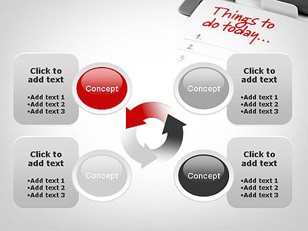 Things To Do List PowerPoint Template Slide 9