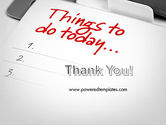 Things To Do List PowerPoint Template#20