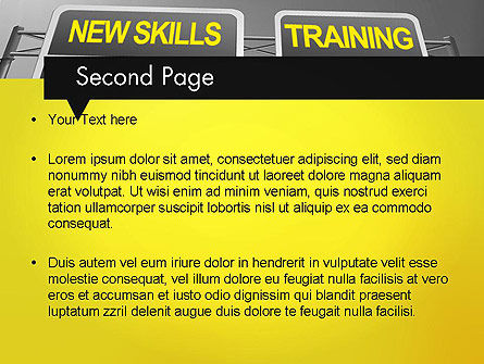 Skills Development PowerPoint Template, Slide 2, 11862, Education & Training — PoweredTemplate.com