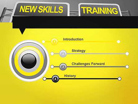 Skills Development PowerPoint Template, Slide 3, 11862, Education & Training — PoweredTemplate.com