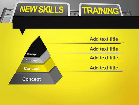Skills Development PowerPoint Template, Slide 4, 11862, Education & Training — PoweredTemplate.com