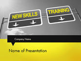 Education & Training: Skills Development PowerPoint Template #11862