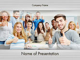 Careers/Industry: Recruitment PowerPoint Template #11864