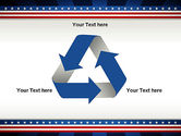 American Festive Theme PowerPoint Template#10