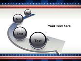 American Festive Theme PowerPoint Template#6