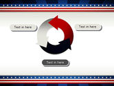 American Festive Theme PowerPoint Template#9