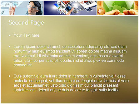 Global Technology PowerPoint Template, Slide 2, 11866, Technology and Science — PoweredTemplate.com