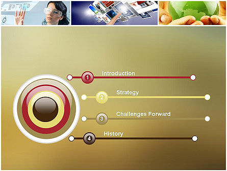 Global Technology PowerPoint Template, Slide 3, 11866, Technology and Science — PoweredTemplate.com