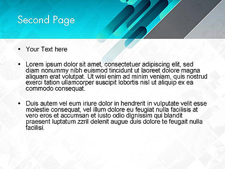 Business Abstract PowerPoint Template Slide 2