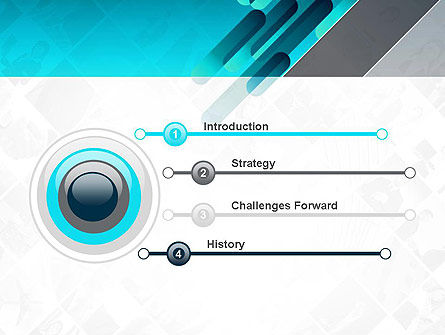 Business Abstract PowerPoint Template Slide 3
