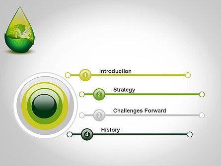 Green Cleaning PowerPoint Template, Slide 3, 11870, Nature & Environment — PoweredTemplate.com