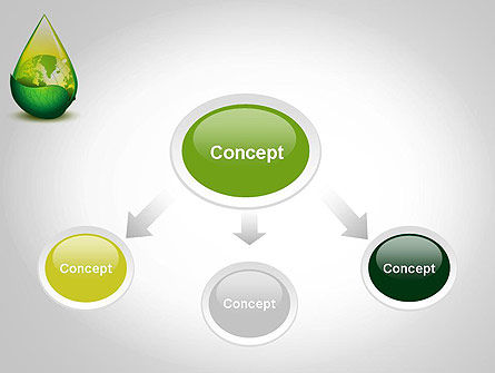 Green Cleaning PowerPoint Template, Slide 4, 11870, Nature & Environment — PoweredTemplate.com
