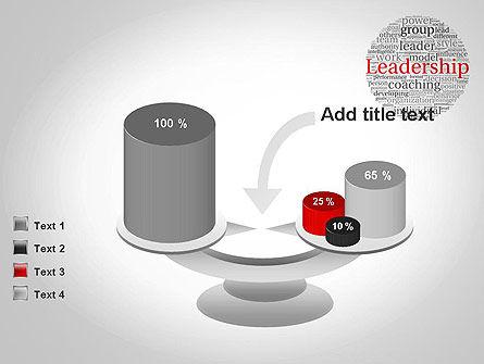 Leadership Word Cloud PowerPoint Template Slide 10
