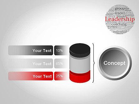 Leadership Word Cloud PowerPoint Template Slide 11