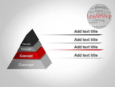 Leadership Word Cloud PowerPoint Template Slide 12