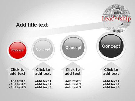 Leadership Word Cloud PowerPoint Template Slide 13