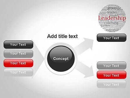 Leadership Word Cloud PowerPoint Template Slide 14