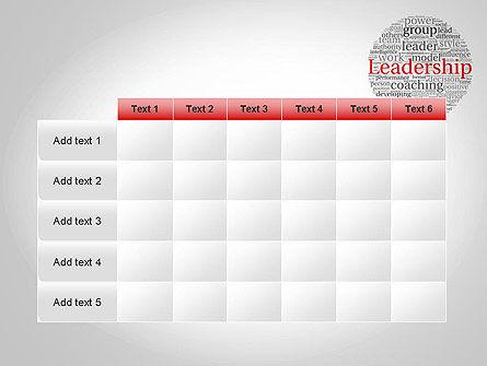 Leadership Word Cloud PowerPoint Template Slide 15