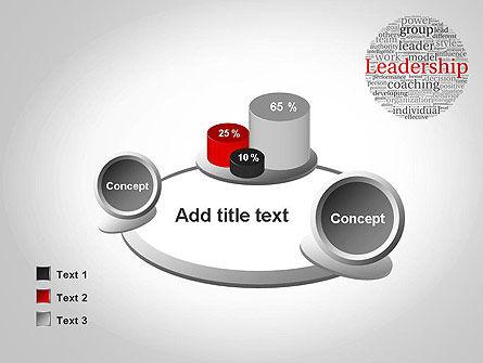 Leadership Word Cloud PowerPoint Template Slide 16