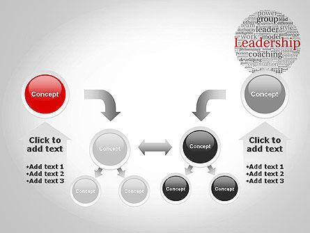 Leadership Word Cloud PowerPoint Template Slide 19
