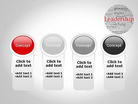 Leadership Word Cloud PowerPoint Template Slide 5