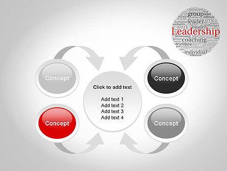 Leadership Word Cloud PowerPoint Template Slide 6