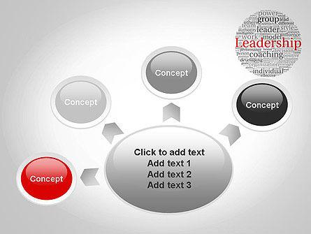 Leadership Word Cloud PowerPoint Template Slide 7