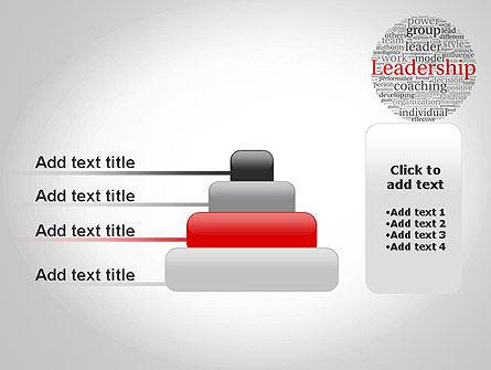Leadership Word Cloud PowerPoint Template Slide 8