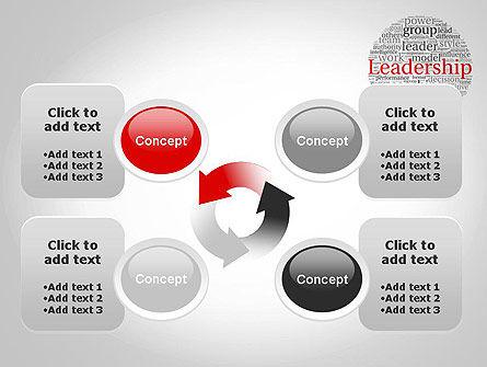 Leadership Word Cloud PowerPoint Template Slide 9