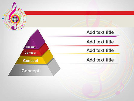 Violin Key PowerPoint Template Slide 12