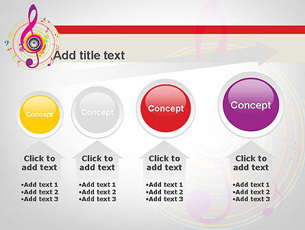Violin Key PowerPoint Template Slide 13