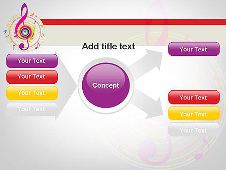 Violin Key PowerPoint Template Slide 14