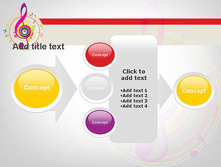 Violin Key PowerPoint Template Slide 17